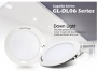 "Σειρά Capella LED GL-DL06- 6"" Χωνευτό 12W-230V DIMMABLE Glacial"