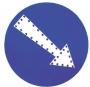 Ηλιακό προειδοποιητικό φωτινό βέλος H-912