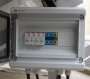 Πίνακας σύνδεσης 4 φωτοβολταϊκών σειρών, για αυτόνομα συστήματα.